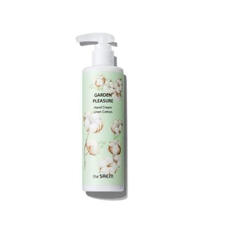 Крем для рук Garden pleasure hand cream linen cotton