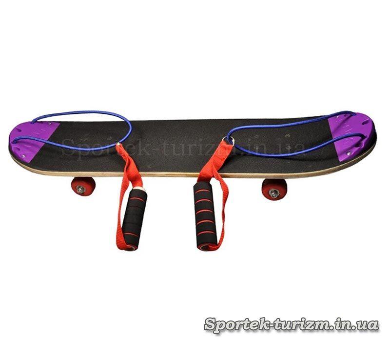 Скейтборд с ручками
