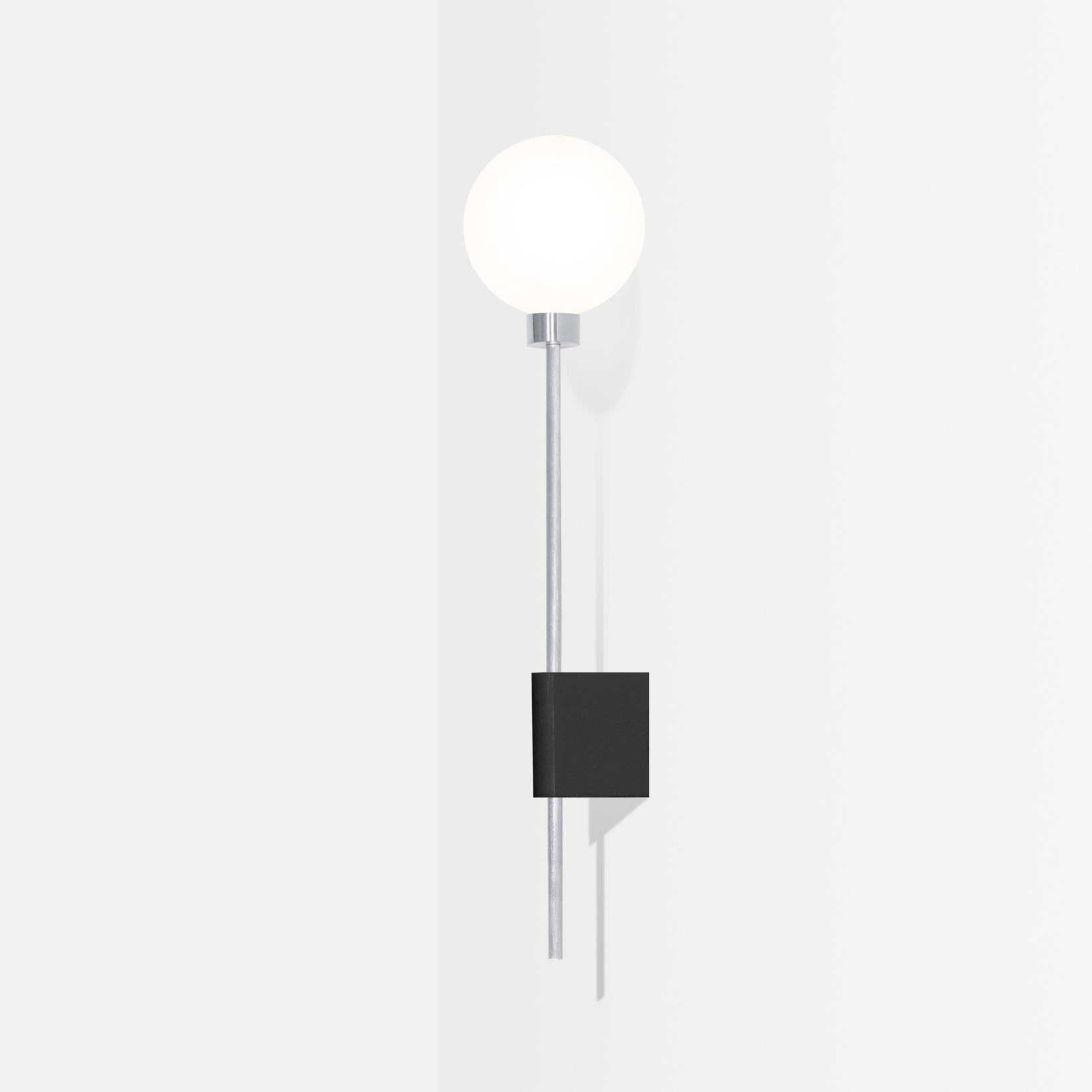 Настенный светильник Lanta черный гранит - вид 4