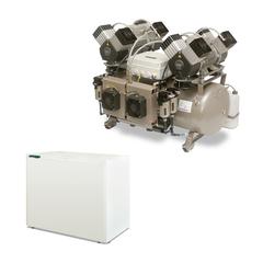 DK50 2X4VR/110/M безмасляный компрессор (8 установок) Ekom