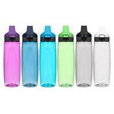 Бутылка для воды из тритана с кнопкой, 900 мл, артикул 680_Мульти, производитель - Sistema, фото 7