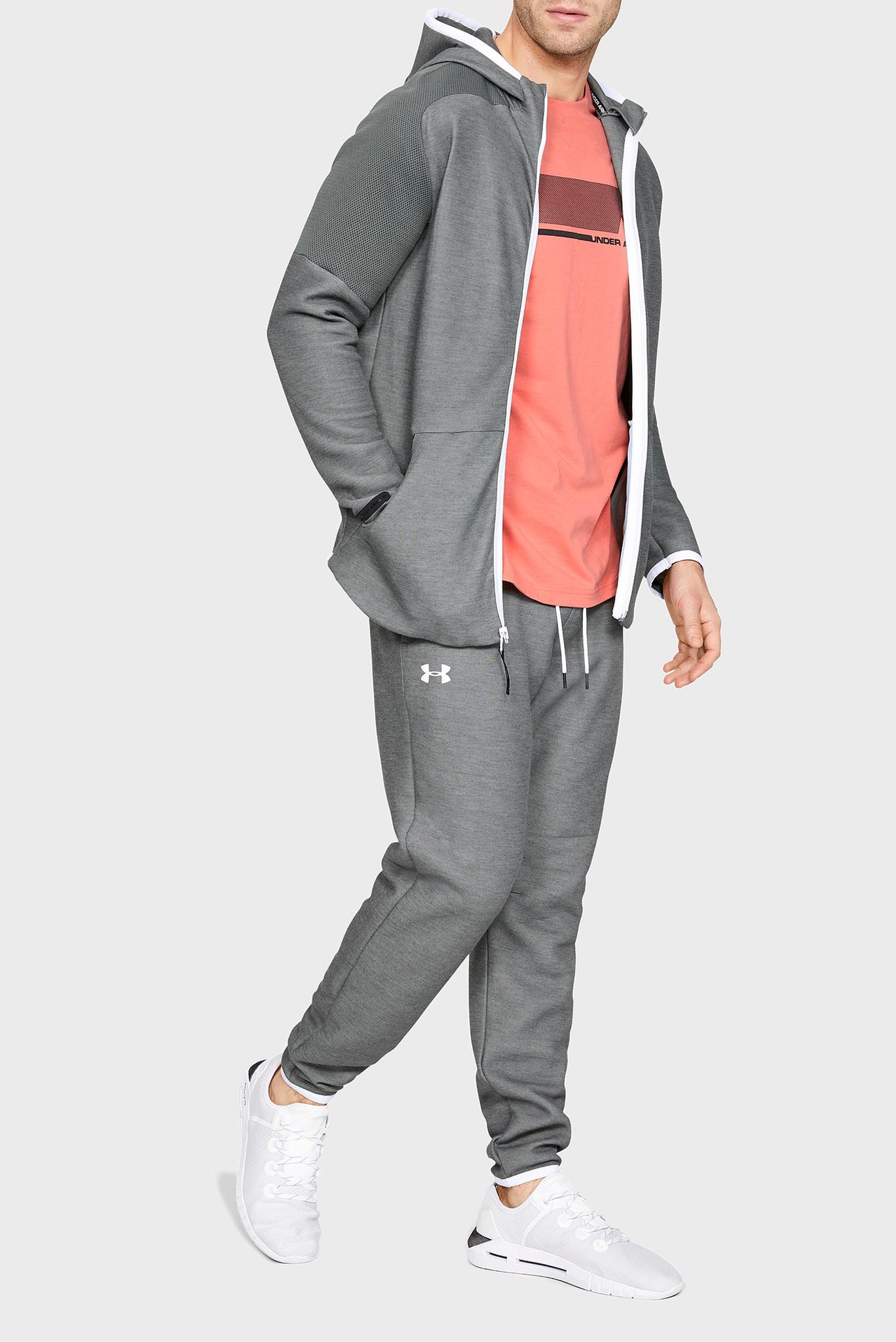 Мужские серые спортивные брюки UNSTOPPABLE MOVE LITE Under Armour
