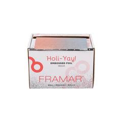 Embossed Roll Medium Holi-Yay 2019 | Фольга в рулоне с тиснением «Вдохновение праздника» в упаковке