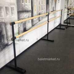Мобильный балетный станок М1-2 двухрядный