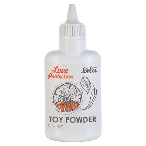 Пудра для игрушек с ароматом апельсина Orange - 30 гр.