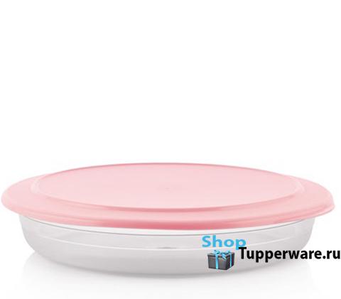 Блюдо (2л) в розовом цвете