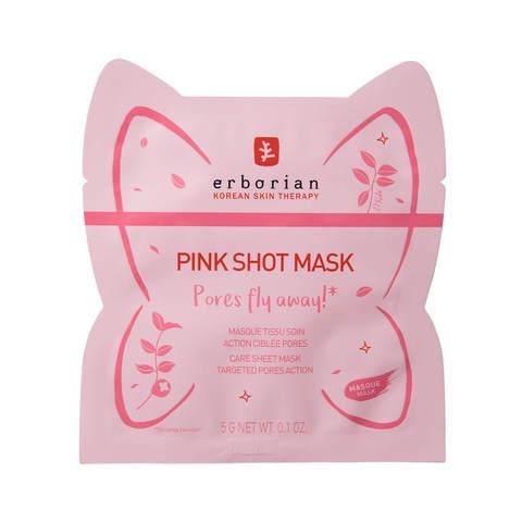 Erborian PP тканевая маска для сужения пор Pink Shot Mask