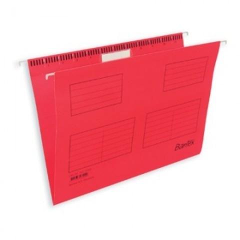 Подвесная регистратура папка BANTEX красная размер Foolscap 25 шт. Дания 10