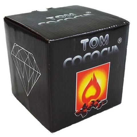 Уголь Tom Cococha Diamond 1кг в индивидуальной упаковке