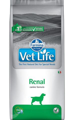Корм для собак Farmina Vet Life Canine Renal (12 кг)
