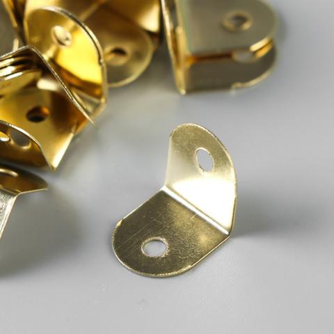 Зажим угловой с закругленными краями 1,2х1,3 см