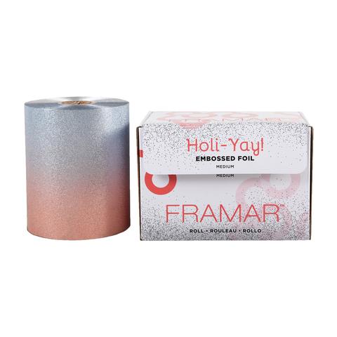 Embossed Roll Medium Holi-Yay 2019 | Фольга в рулоне с тиснением «Вдохновение праздника»