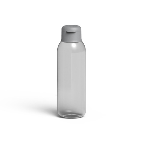 Бутылка для воды 0,75л Leo (серая)