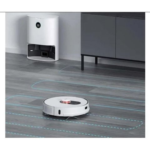 Робот-пылесос Roidmi EVE Plus Robot Vacuum and Mop Cleaner with Cleaning Base (EU)