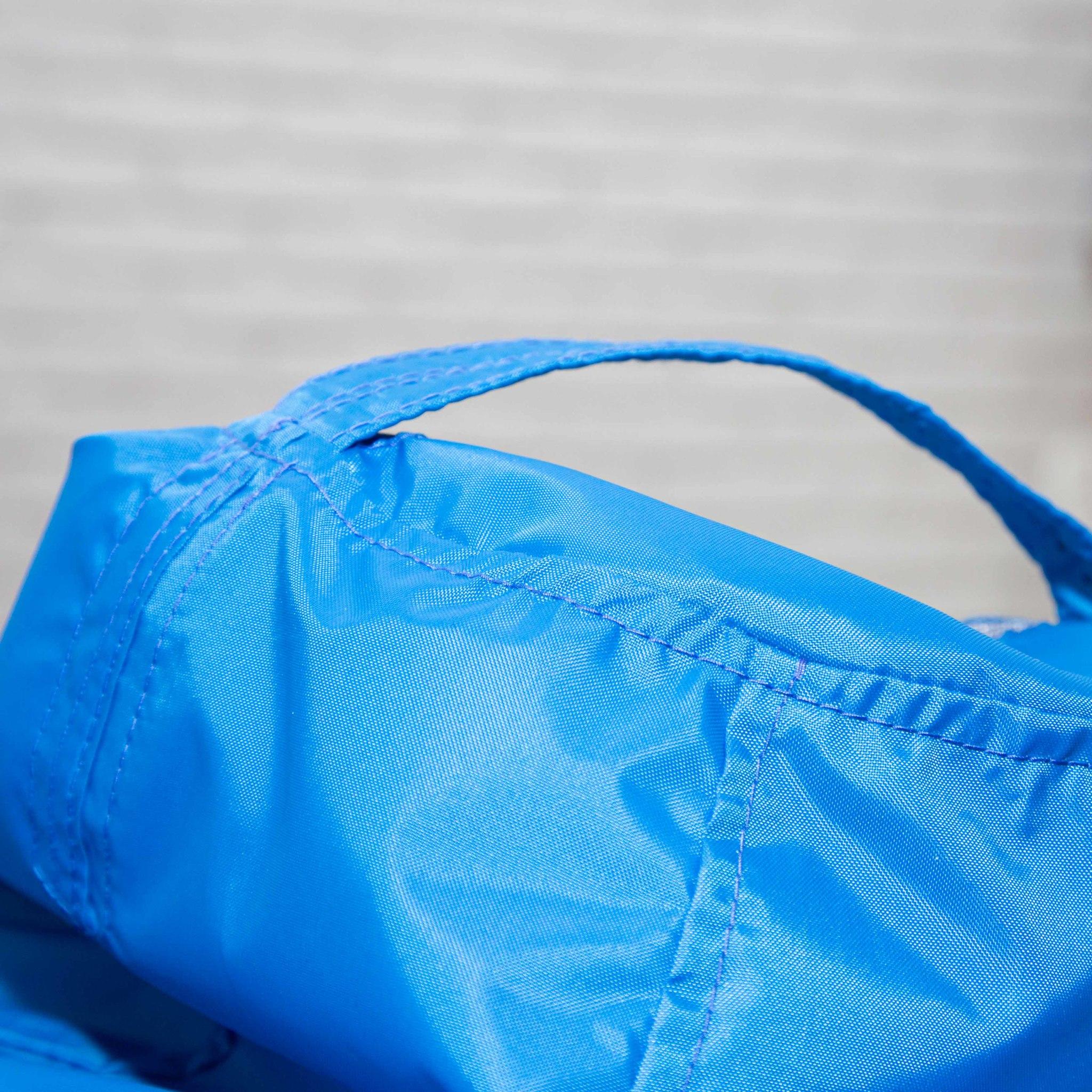 Груша M плащёвка, съёмный чехол (светло-синяя)