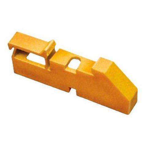 Изолятор на DIN рейку желтый TDM
