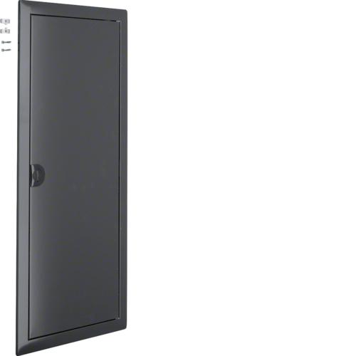 Наружная рамка с дверцей для встраиваемого щитка Volta,4-рядного, RAL7016, антрацит