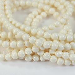 5810 Хрустальный жемчуг Сваровски Crystal Ivory круглый 6 мм, 5 шт