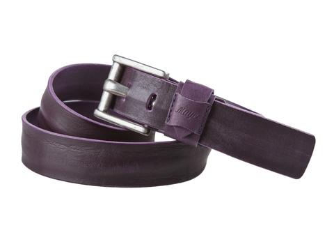 Женский джинсовый фиолетовый ремень из кожи Mayer B 40-440