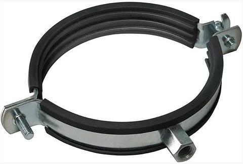 Хомут с резиновым профилем для воздуховода D 150 мм