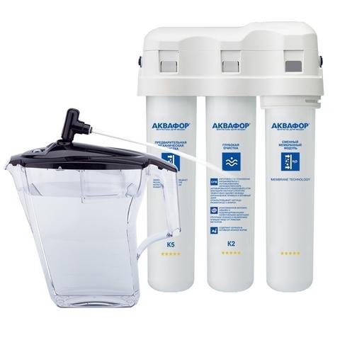 Водоочиститель Аквафор-ОСМО-М исполнение Аквафор-ОСМО-К-100-3-Б-М-Р-Г, арт.и4965