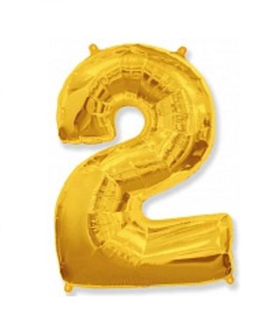 Цифра два - золото