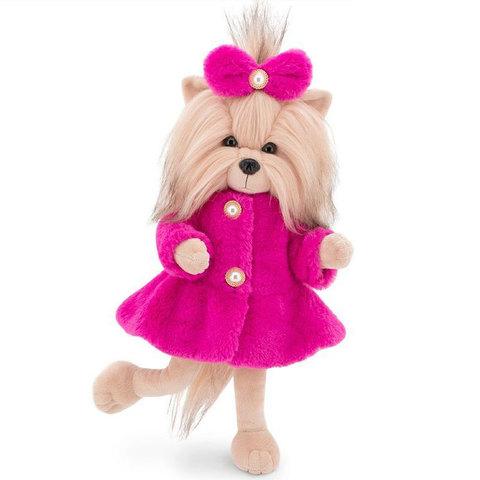 Собачка LUCKY YOYO Розовая шубка