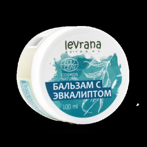 Levrana Бальзам с эвкалиптом, 100 мл ECOCERT