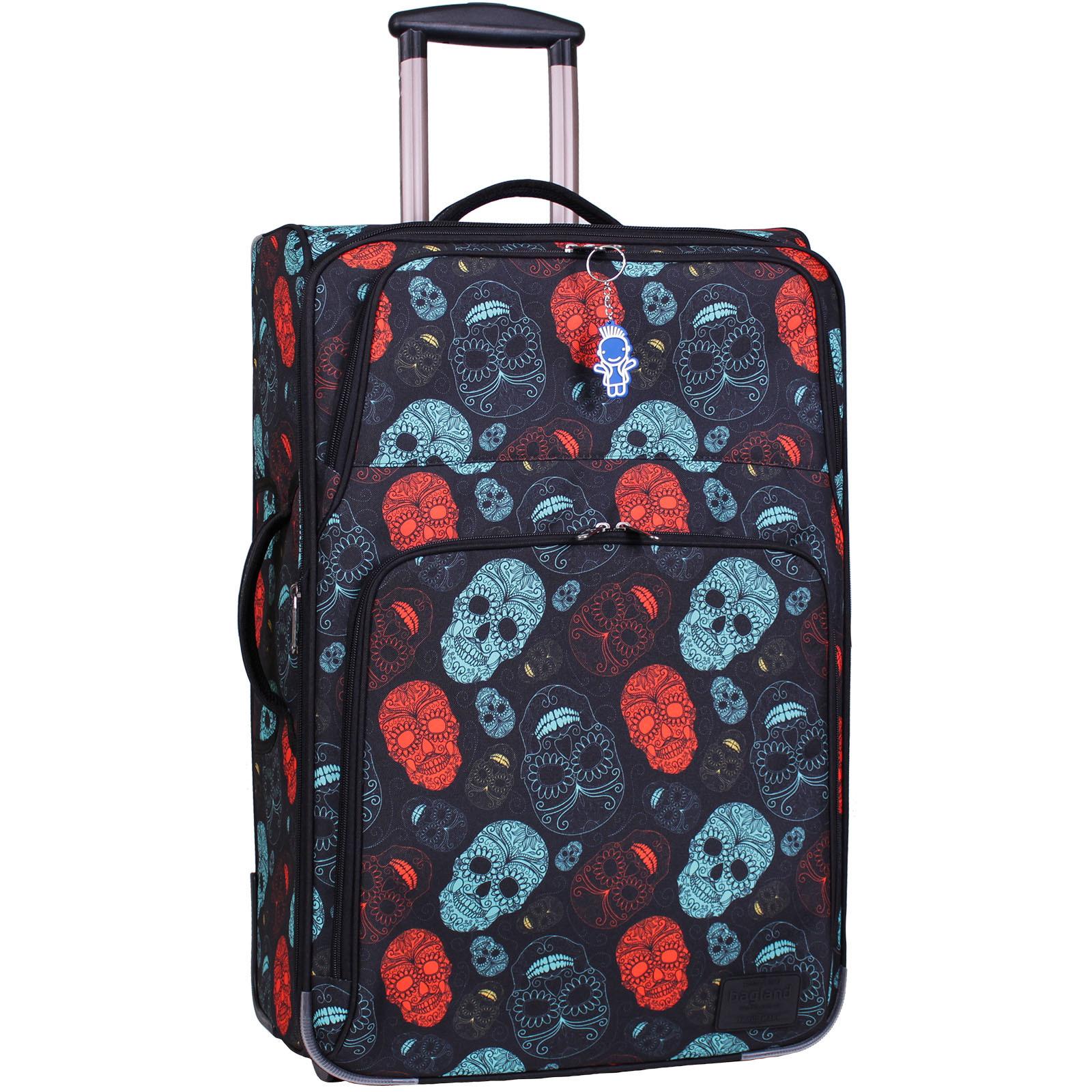 Дорожные чемоданы Чемодан Bagland Леон большой дизайн 70 л. сублимация (черепа) (0037666274) IMG_6829-1600.jpg