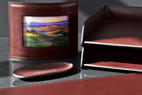 Рамка для фотографий LUXE из кожи Full Grain Bologna Brown