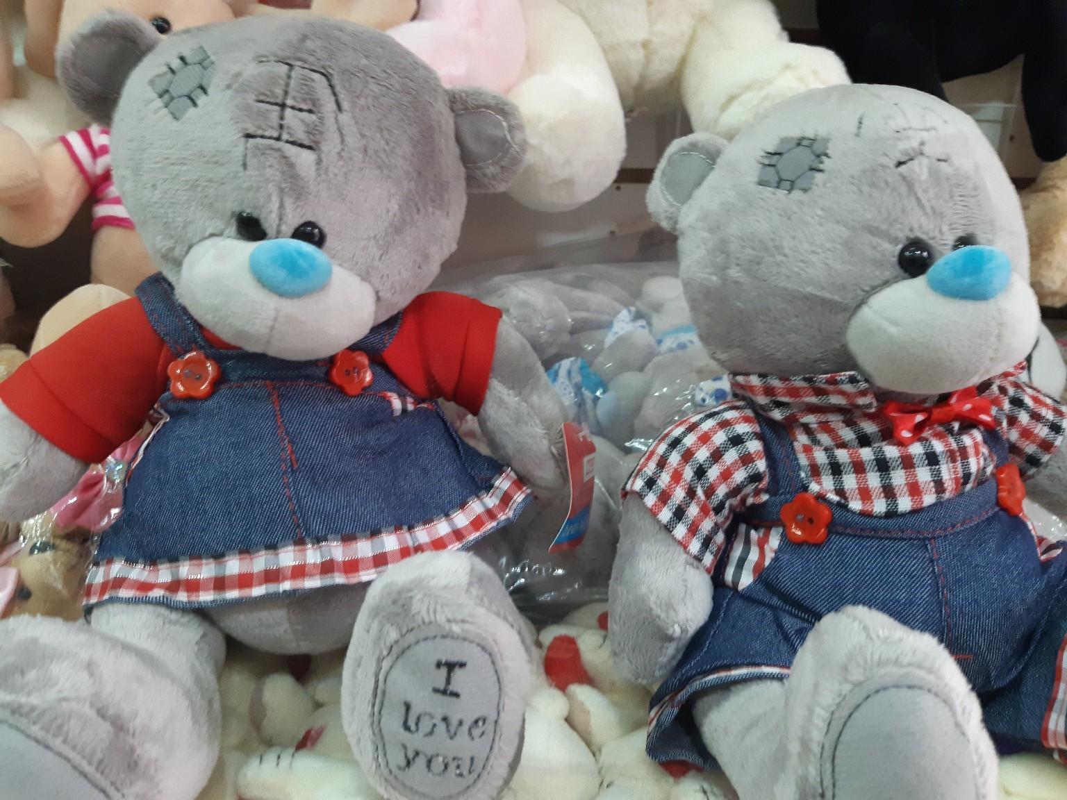 Мишка Тедди (мальчик и девочка)