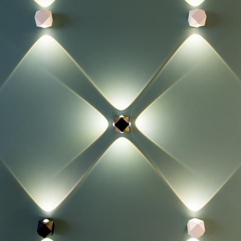 Настенный влагозащищенный LED светильник 4219/4WL серии DIAMANTA