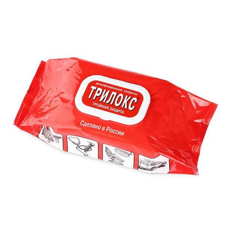 Трилокс салфетки 120 шт -  (Быстрая дезинфекция поверхностей)