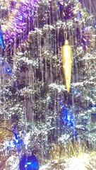 Чудо ёлка с падающим снегом