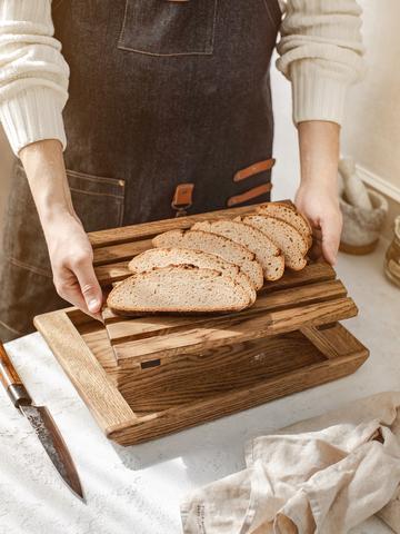 Доска для нарезки хлеба из дуба
