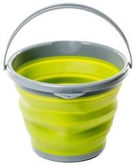 Ведро Tramp складное силиконовое 10л, оливковый