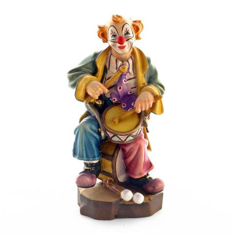 Клоун-барабанщик