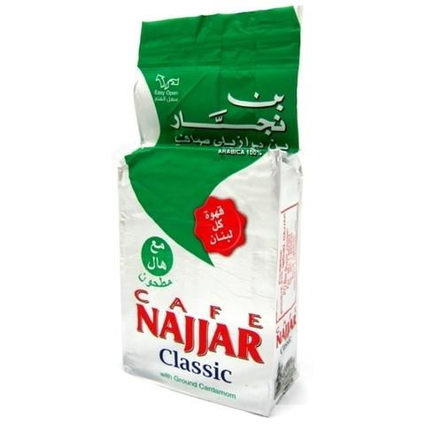 Арабский кофе молотый с кардамоном, Najjar, 200 г