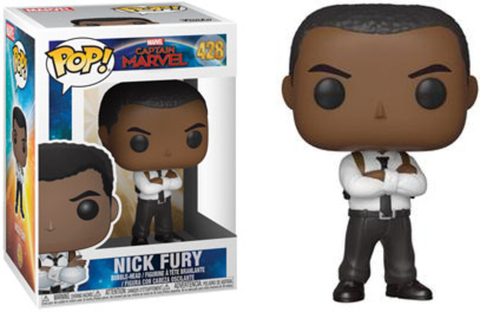 Captain Marvel Nick Fury Funko Pop! Vinyl Figure || Ник Фьюри