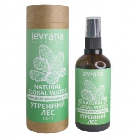 Флоральная вода для лица и тела. Утренний лес, 100мл (Levrana)