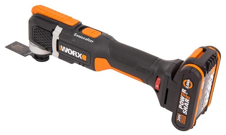 Реноватор аккумуляторный 20В WORX Sonicrafter WX696