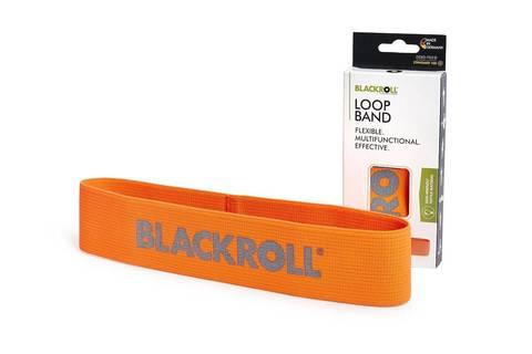 Мини-эспандер текстильный BLACKROLL® LOOP BAND 30 см (легкое сопротивление)