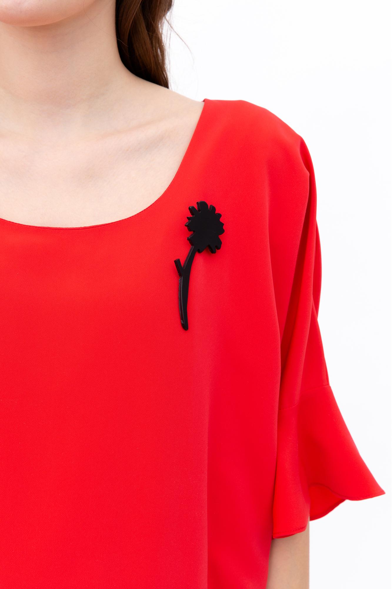 Платье для беременных 08670 красный