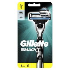 Бритва с 2 смен.кассетами GILLETTE MACH3