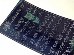 Металлизированные наклейки Arti nails Stiker цвет серебро №11