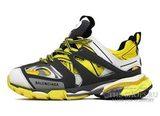 Кроссовки женские Balenciaga Track Trainers Maille Yellow