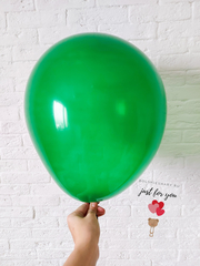 Воздушные шары зеленый кристалл