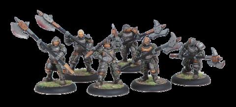 Mercenary Steelhead Halberdiers Unit BO