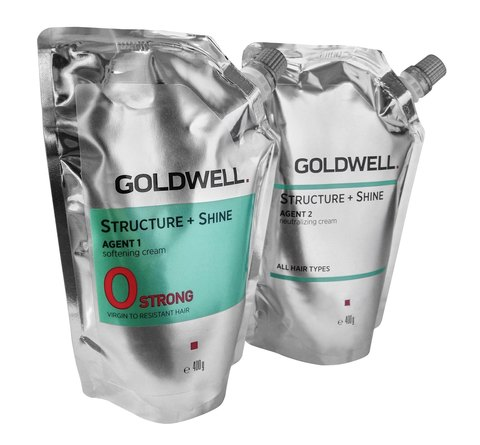 Goldwell Structure+Shine Strong 2*400 мл.