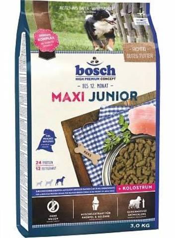 15 кг. Сухой корм для щенков Bosch Maxi Junior